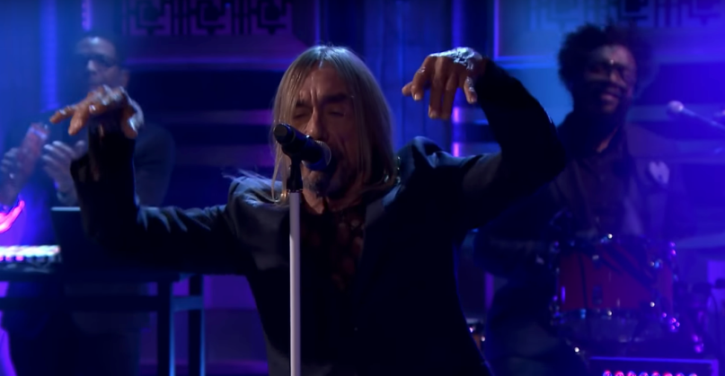 Iggy Pop on Fallon