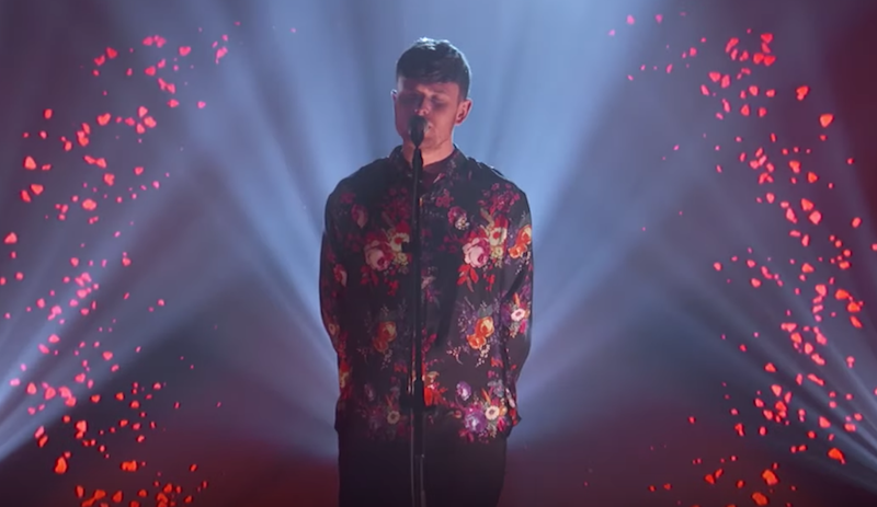 James Blake on Jimmy Kimmel Live Are You in Love