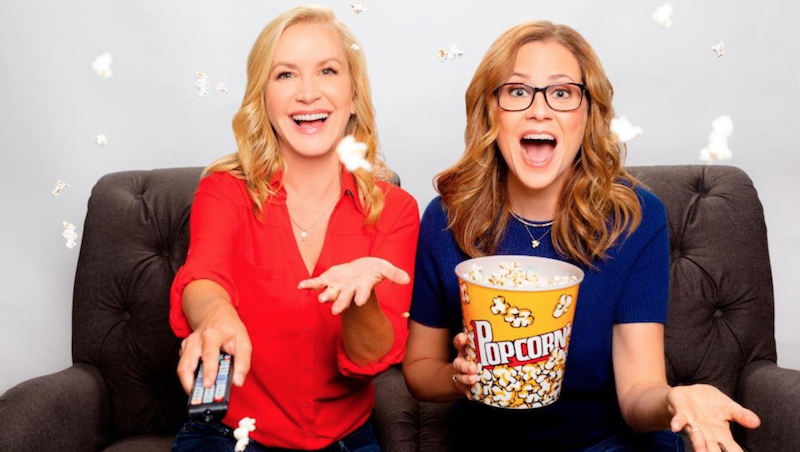 Jenna Fischer Angela Kinsey The Office Podcast Adam Hendershott Photography