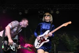 The Joy Formidable at Pasadena Daydream, photo by Debi Del Grande