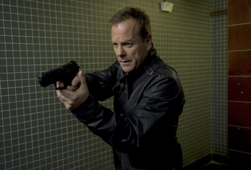 Kiefer Sutherland in 24 (FOX)
