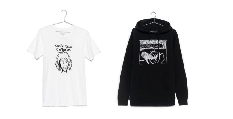 """""""Kurt Was Here"""" apparel collection"""
