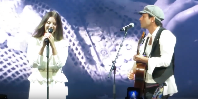 "Lana Del Rey covers Leonard Cohen's ""Chelsea Hotel No. 2"" with his son Adam: Watch"