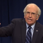 Larry David as Bernie David on SNL
