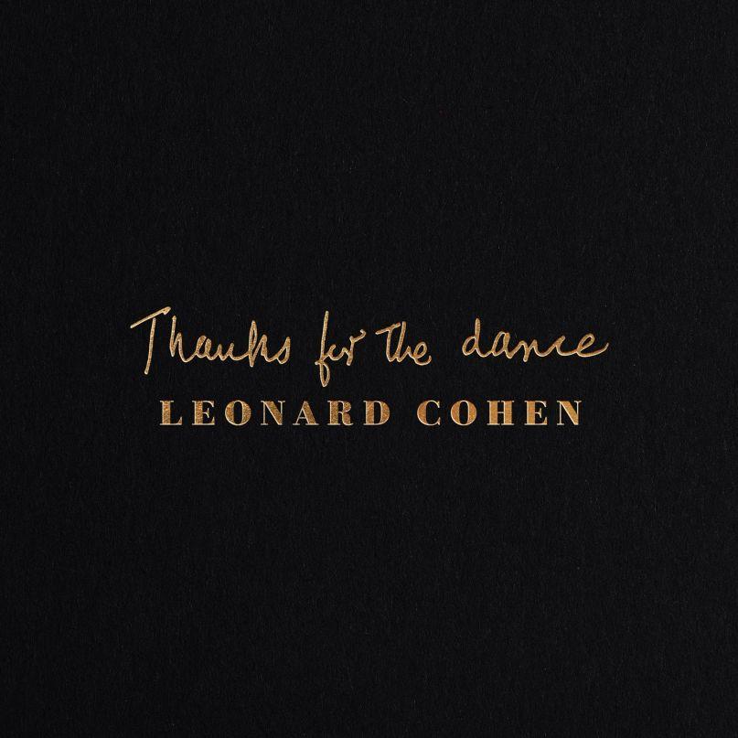 Leonard Cohen Thank You For the Dance artwork