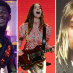 Lil Nas X HAIM Kurt Cobain Nirvana Panini In Bloom BBC Live Lounge