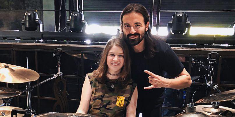 Maren Alford meets Slipknot's Jay Weinberg