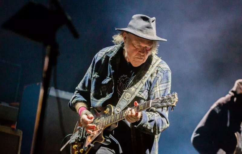"""Neil Young and Crazy Horse give """"A love letter from us"""" to Earth: Stream"""