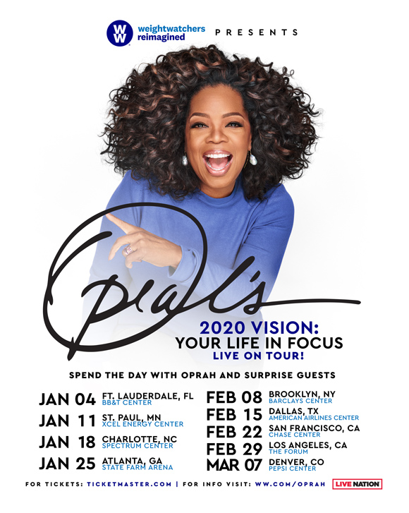 Oprah 2020 tour