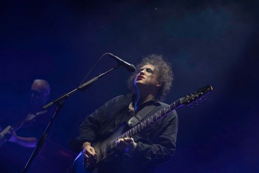 The Cure at Pasadena Daydream Festival, photo by Debi Del Grande