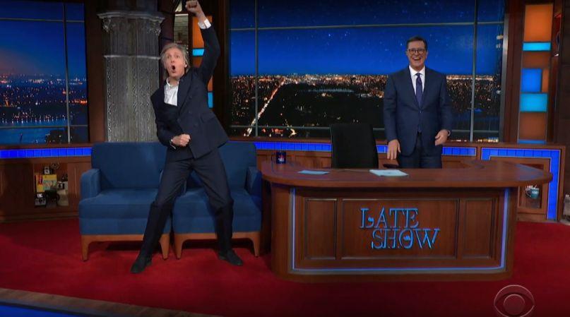 Paul McCartney on Colbert