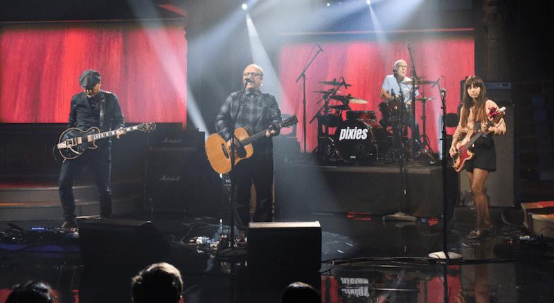 Pixies Colbert Late Show with Stephen Colbert Catfish Kate Scott Kowalchyk CBS