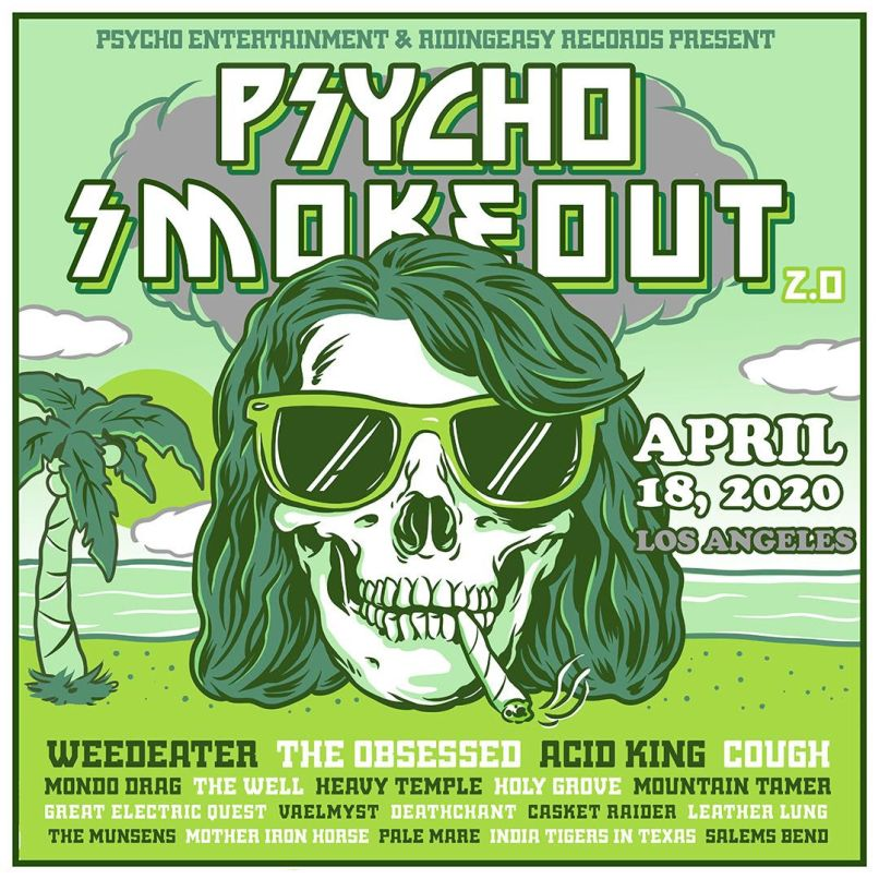 Psycho Smokeout 2.0 poster