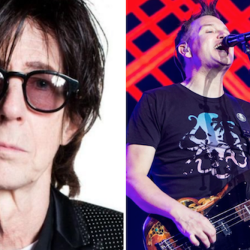 Ric Ocasek of The Cars Mark Hoppus Blink-182 Philip Cosores Just What I Need Cover