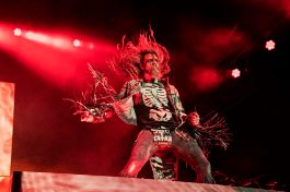Rob Zombie at Louder Than Life, photo by Amy Harris