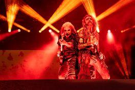 John 5 and Rob Zombie at Louder Than Life
