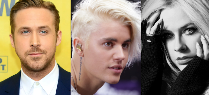 Justin Bieber discovers he's related to Ryan Gosling and Avril Lavigne