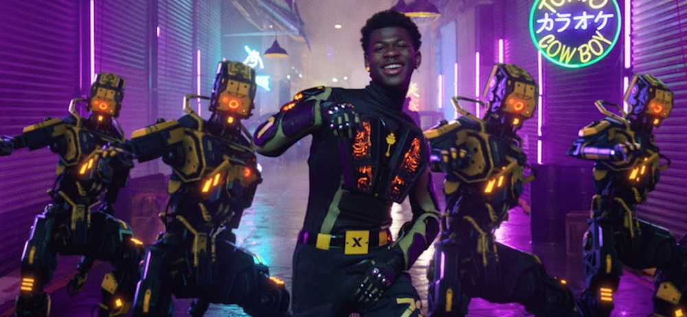 "Lil Nas X blasts off into the future in new ""Panini"" video: Watch"