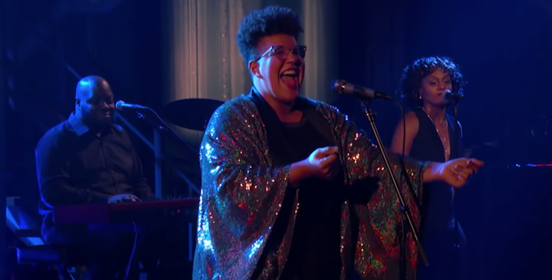 "Brittany Howard performs ""Stay High"" on Colbert: Watch"