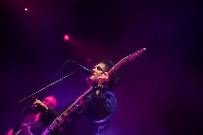 The Cure at Pasadena Daydream, photo by Debi Del Grande