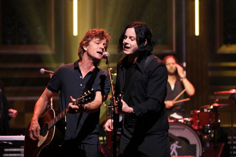 The Tonight Show Jimmy Fallon TV Performance The Raconteurs, photo by Andrew Lipovsky/NBC