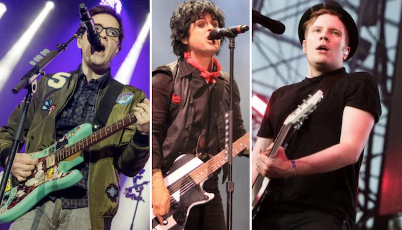 Weezer Tour 2020.Green Day Weezer Fall Out Boy Announce Hella Mega Tour