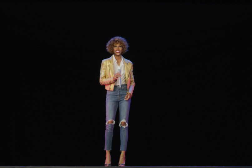 Whitney Houston hologramWhitney Houston hologram