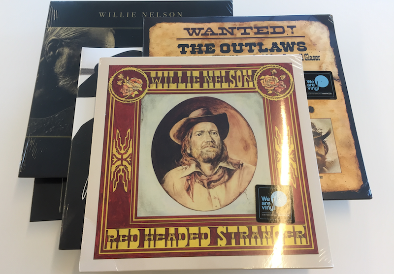 Win a 14-LP Willie Nelson Vinyl Prize Pack
