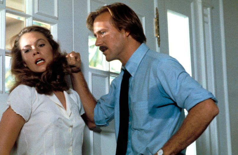 Kathleen Turner and William Hurt in Body Heat