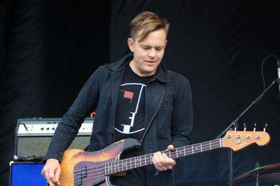 The Get Up Kids at Riot Fest 2019, photo by Heather Kaplan