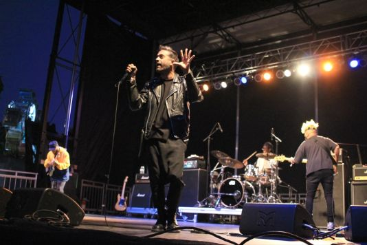 Glassjaw at Riot Fest 2019, photo by Heather Kaplan