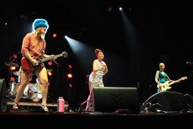 Bikini Kill at Riot Fest 2019, photo by Heather Kaplan