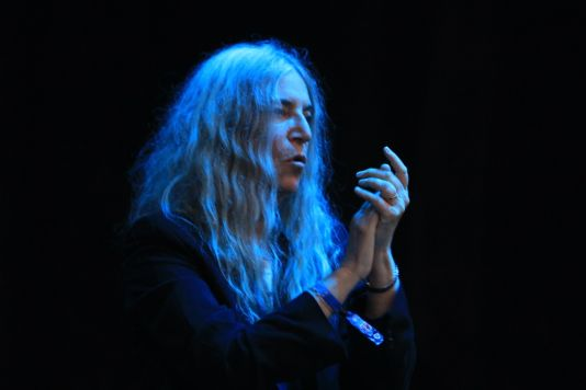 Patti Smith at Riot Fest 2019, photo by Heather Kaplan