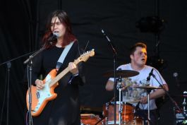 Skating Polly at Riot Fest 2019, photo by Heather Kaplan
