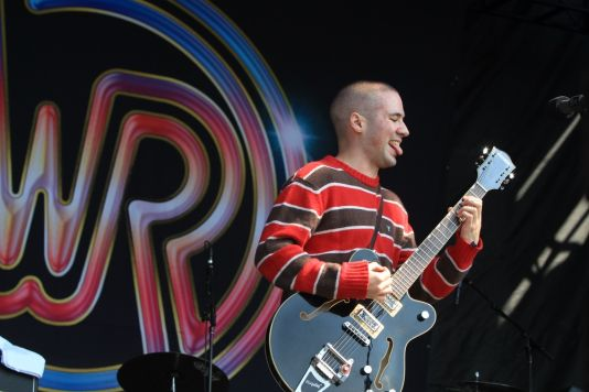 White Reaper at Riot Fest 2019, photo by Heather Kaplan