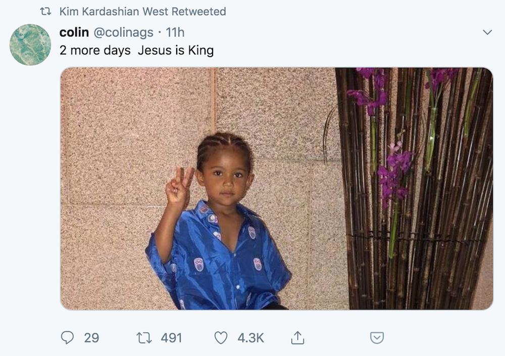 kim jesus king release Kanye West delays release of new album Jesus Is King: Report