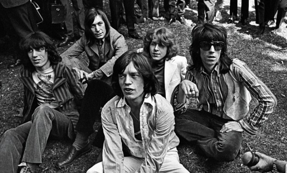 The Rolling Stones, photo via PA Media