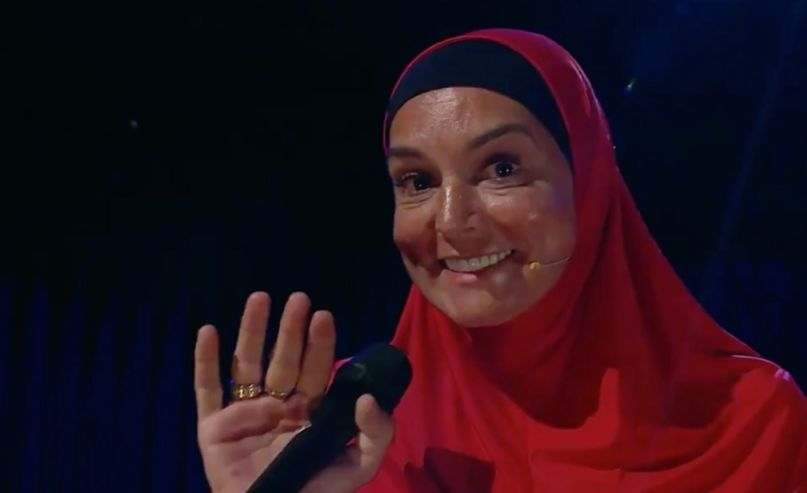 Sinead O'Connor on Late Late Show