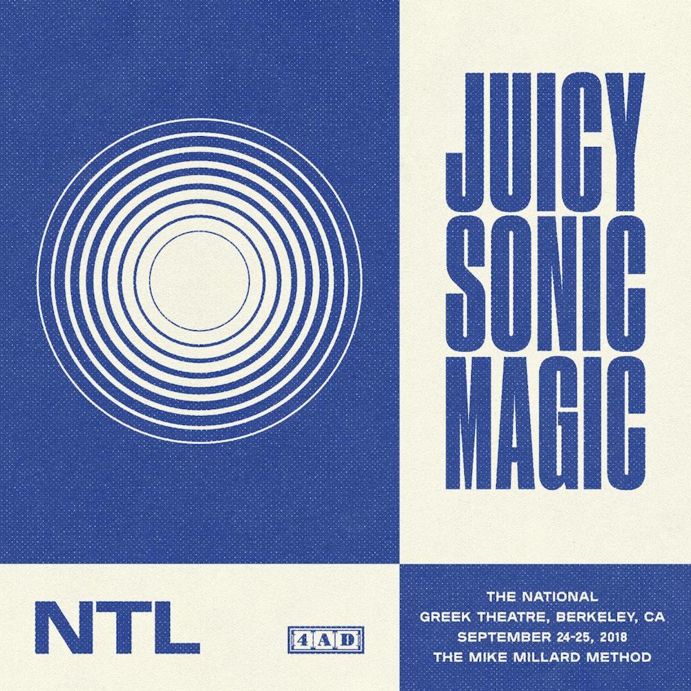 the national band juicy sonic magic live album artwork The National announce new live album Juicy Sonic Magic