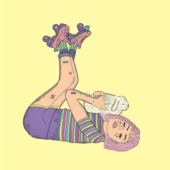 Beach Bunny Honeymoon album artwork cover debut