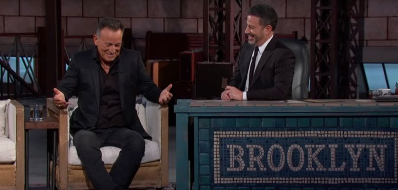Bruce Springsteen on Jimmy Kimmel