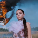 Charli XCX White Mercedes music video