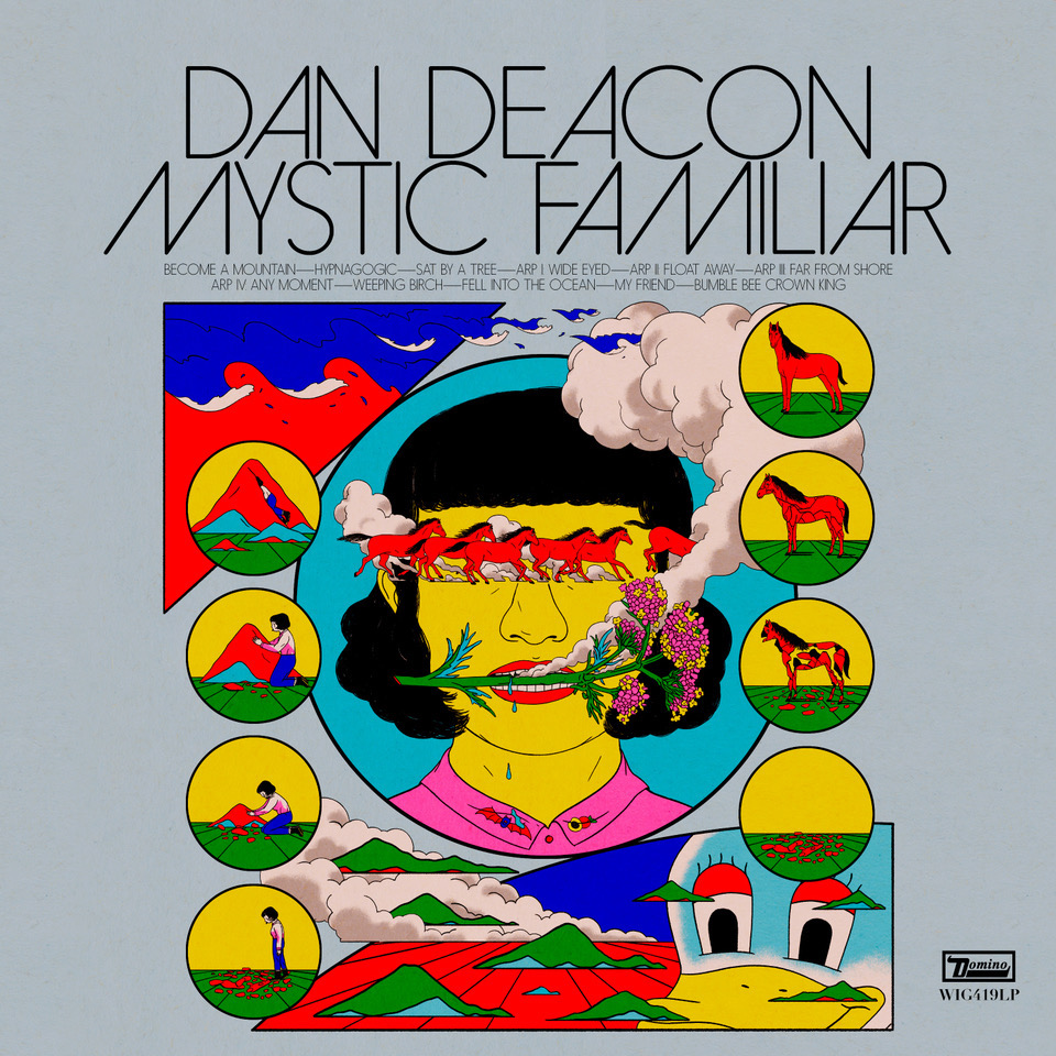 Dan Deacon Mystic Familiar new album artwork cover