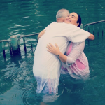Demi Lovato being baptized in the Jordan River apology Israel