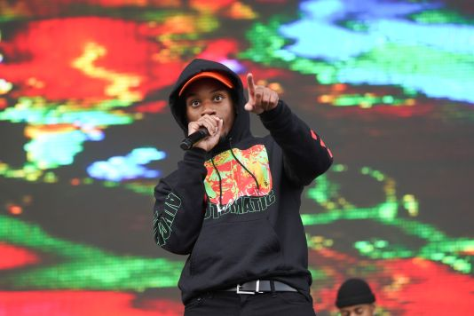 Denzel Curry at Austin City Limits 2019, photo by Amy Price