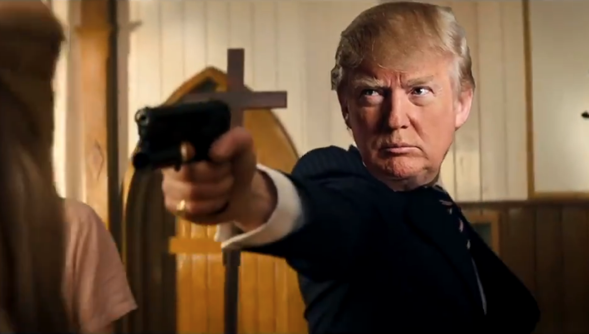 Macabre video of Donald Trump murdering media, political rivals shown at Trump resort