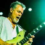 Eddie Van Halen photo with son and ex-wife