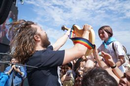 IDLES at Austin City Limits 2019, photo by Amy Price