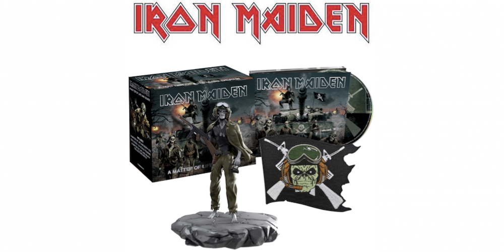 Iron Maiden Announce Final Batch of Studio Collection Remastered CDs