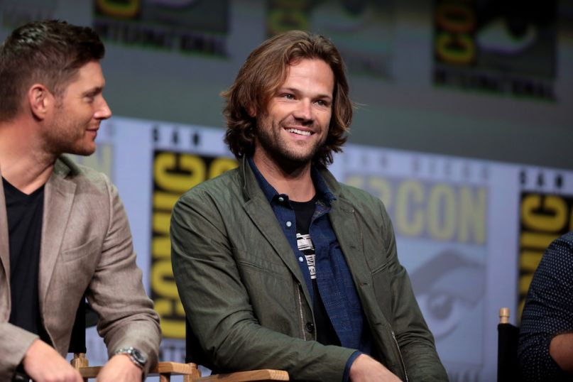 Supernatural Gilmore Girls Dean arrested assault public intoxication drunk Jared Padalecki, photo by Gage Skidmore